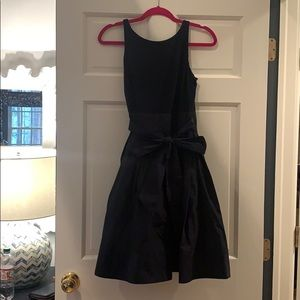RALPH LAUREN NAVY BOW DRESS